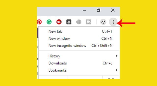 How to stop notifications from chrome