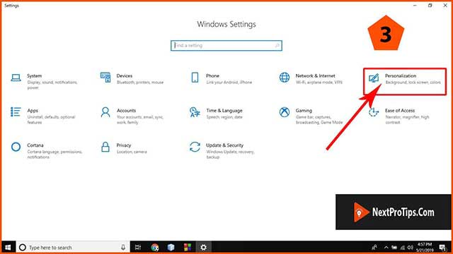 How to enable Windows 10 dark mode step 3