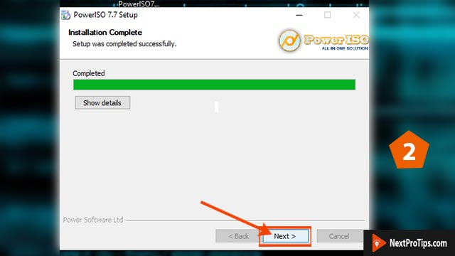 How to make a bootable usb for windows 10 power iso step 2