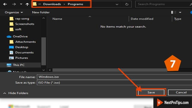 download windows 10 ISO step 7